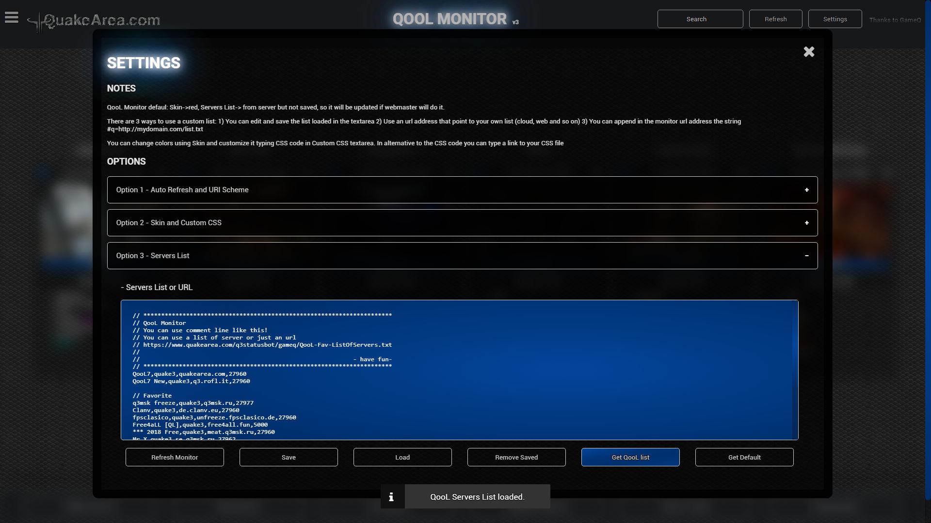 Quakearea - QooL Monitor Review